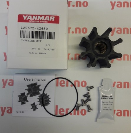 Impeller kit 120672-42650